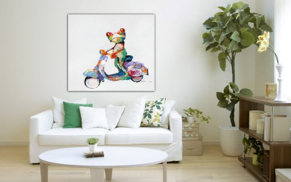 scooter frog